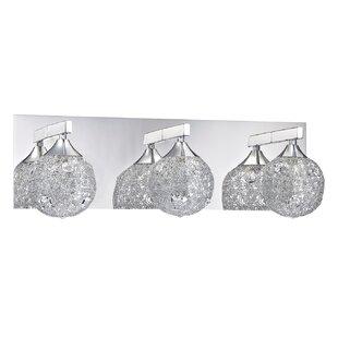 Find for Solaro 3-Light Vanity Light By Kendal Lighting