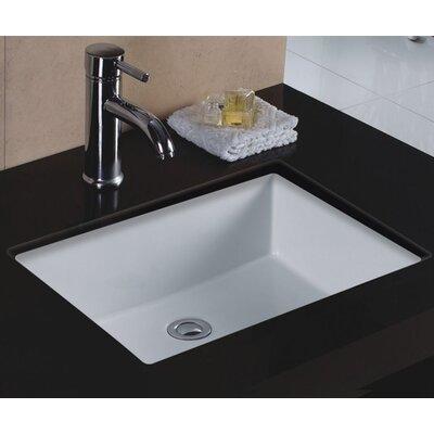 Undermount Bathroom Sink american standard boulevard rectangular undermount bathroom sink