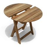 Pedersen Folding Wooden Bistro Table