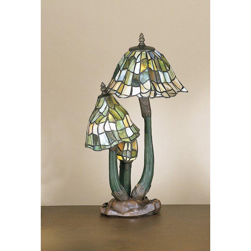 "AA Importing Tiffany Mushroom 21"" Table Lamp"