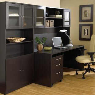 Marta 4 Piece Desk Office Suite