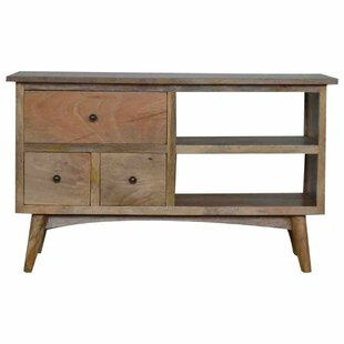 Solid Wood TV Stand For TVs Up To 40