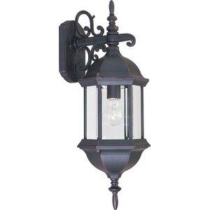 Shifflett 1-Light Outdoor Wall Lantern