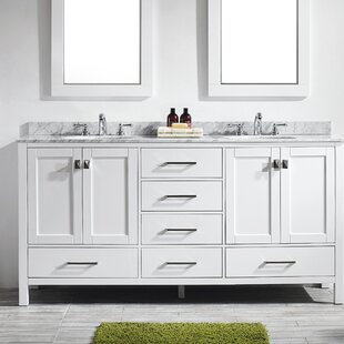 Pichardo 72 Double Bathroom Vanity Set by Brayden Studio