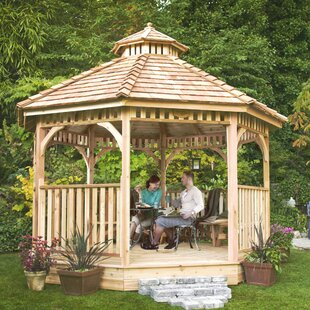 Outdoor Living Today Bayside 12 Ft. W x 12 Ft. D Solid Wood Patio Gazebo