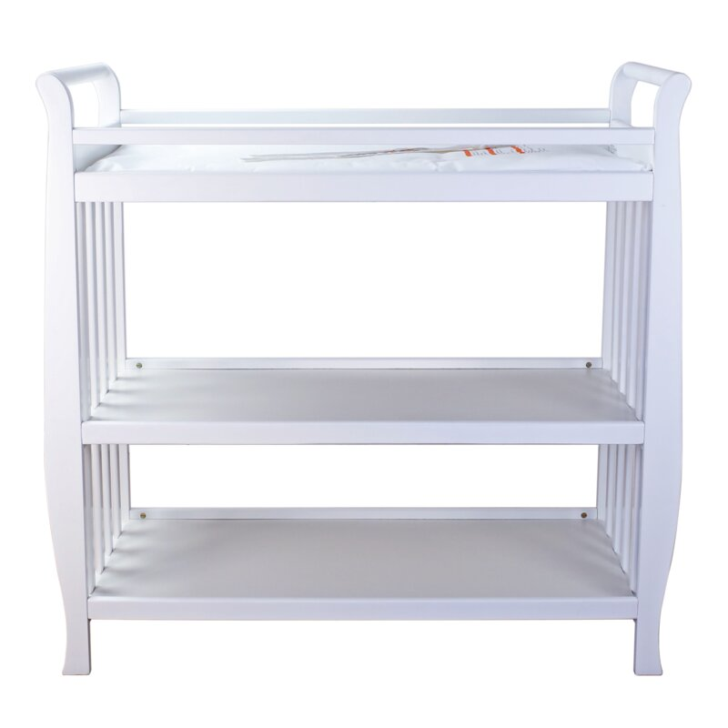 Harriet Bee Orson Changing Table With Pad Reviews Wayfair