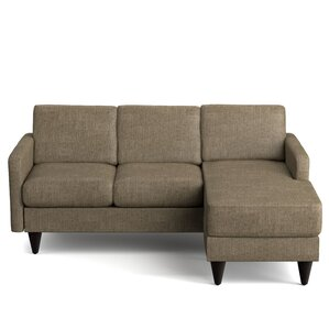 Karbach Reversible Sectional  sc 1 st  AllModern : russ sofa bed with chaise - Sectionals, Sofas & Couches
