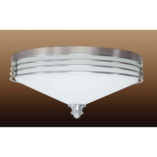 Volume Lighting Avila 3-Light Ceiling Fixture Flush Mount