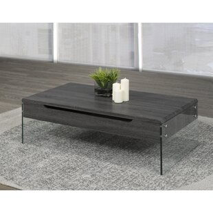 Brassex Lift Top Coffee Table with Storage
