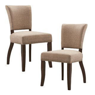 Alasan Upholstered Dining Chair (Set of 2) by Darby Home Co SKU:EC691121 Description