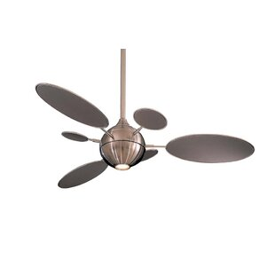 54 George Kovacs 6 Blade Ceiling Fan, Light Kit Included by Minka Aire