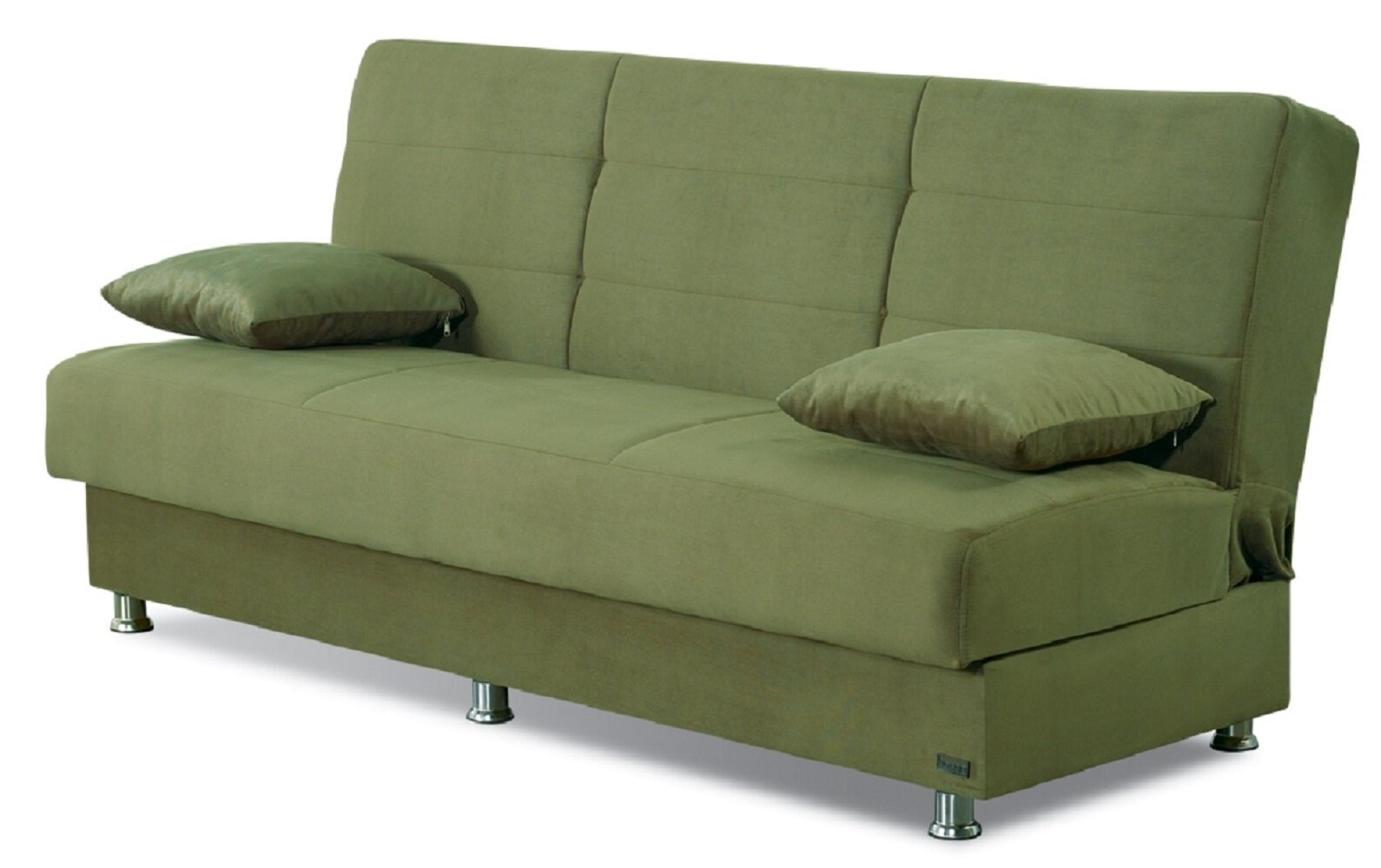 Picture of: Winston Porter Brookhurst 75 Armless Sleeper Sofa Bed Reviews