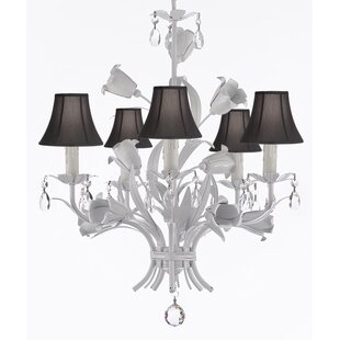 Ophelia & Co. Jakarta 5-Light Shaded Chandelier