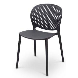 Azha Stacking Patio Dining Chair (Set of 2)