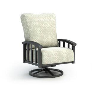 Longshore Tides Dakota Swivel Patio Chair with Sunbrella Cushion