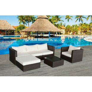 Cabo 4 Piece Sofa Set with Cushions