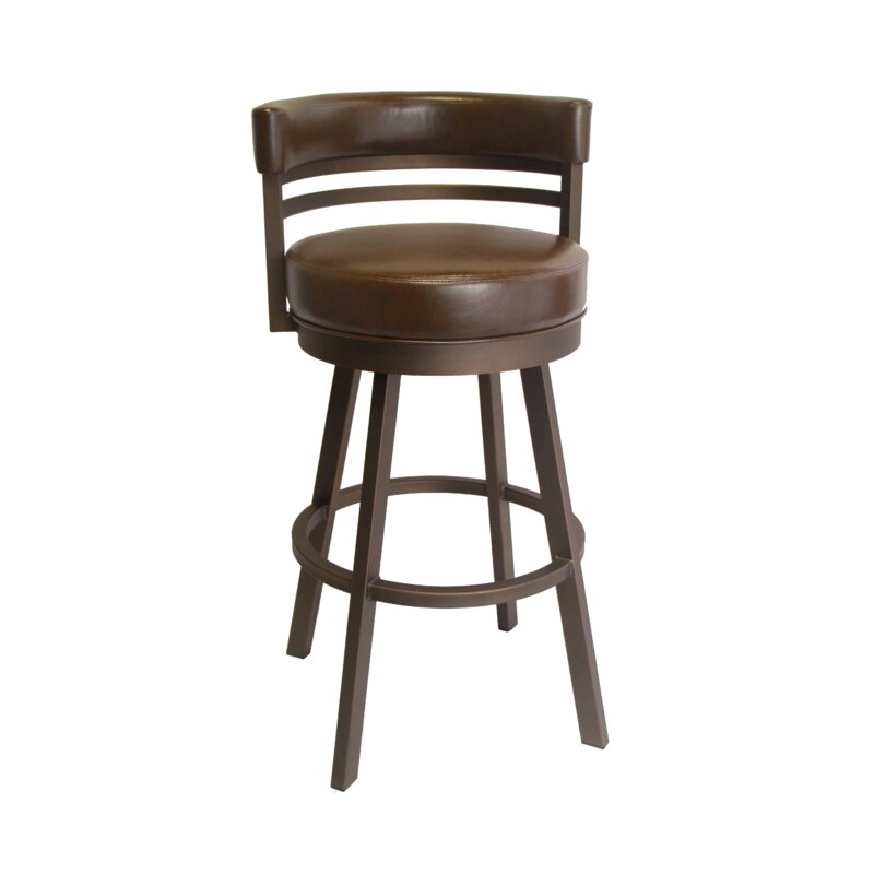 Williston Forge Rinker 30 Swivel Bar Stool Reviews Wayfair