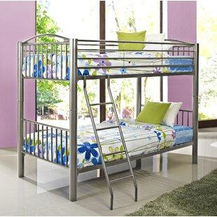 Order Hettinger Heavy Metal Slat Bunk Bed ByZoomie Kids