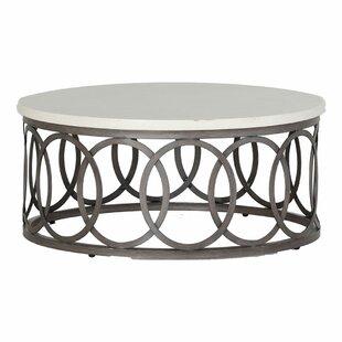 Ella Stone/Concrete Coffee Table by Summer Classics