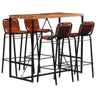 Risborough Dining Set With 4 Chairs By Williston Forge