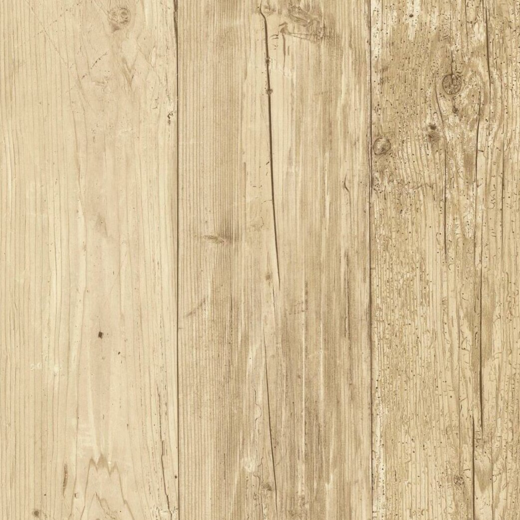 Wood Veneer Wallpaper
