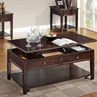 Eppler Wooden Lift Top Coffee Table with Storage