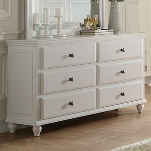 Trisa 6 Drawer Double Dresser
