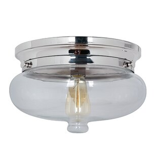Three Posts Bateson 1-Light Flush Mount