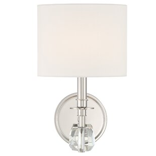 Flintwood 1-Light Armed Sconce by Charlton Home