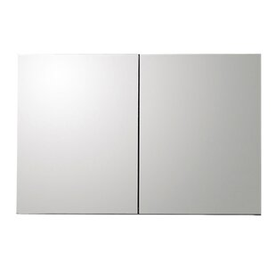 Brownlee 100cm X 66cm Surface Mount Mirror Cabinet By Rebrilliant