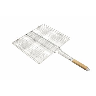 Sunny Side Grill Wooden Handle BBQ Basket By Symple Stuff