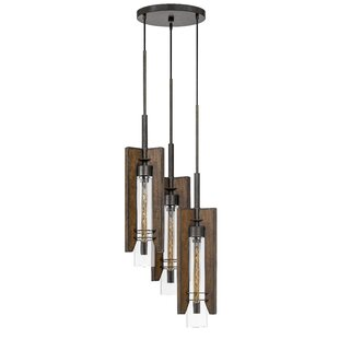 Bickerstaff 3-Light Cluster Pendant by Williston Forge