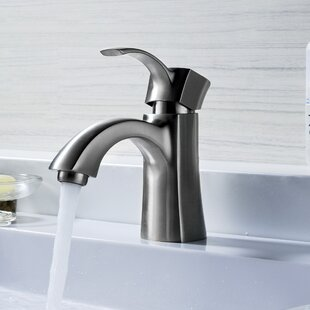 ANZZI Alto Single Hole Bathroom Faucet with Drain Assembly