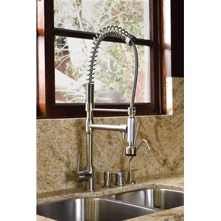 Kingston Brass Concord Pull Down Single Handle Kitchen Faucet