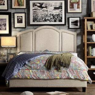 Belpre Queen Upholstered Panel Bed