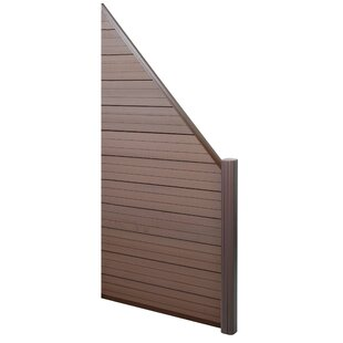 .95m X 1.8m Bamboo Fence Panel By Symple Stuff