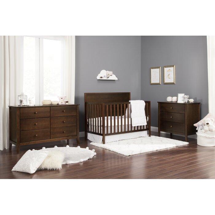 Morgan Convertible Standard 3 Piece Nursery Furniture Set