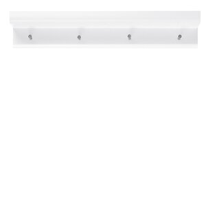 Organiser Wall Mounted Coat Rack And Accent Shelf By 17 Stories