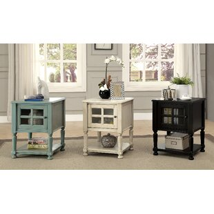 Southmont End Table with Storage by Alcott Hill