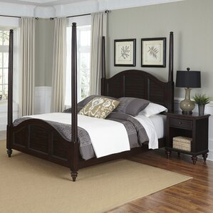 Harrison Traditional Four Poster 2 Piece Bedroom Set