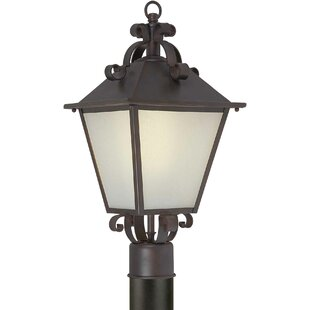 Top Reviews Rockmill 1-Light Lantern Head By Three Posts