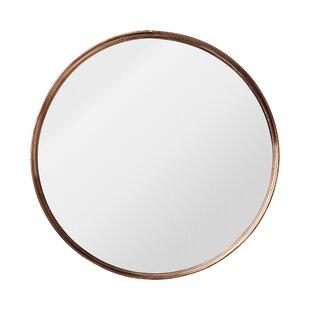 round metal framed mirror - Modern Mirrors