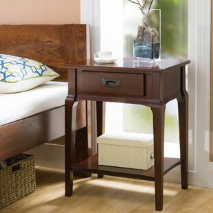 Inexpensive Jacobsen 1 Drawer Nightstand by Charlton Home