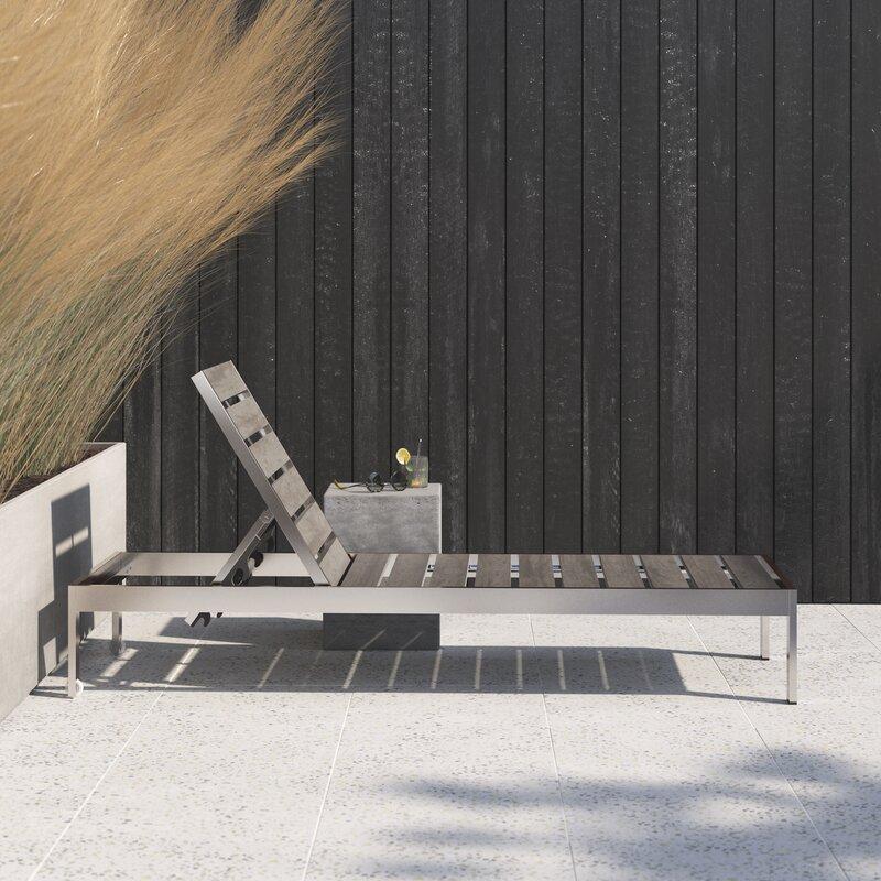 Xochitl Reclining Chaise Lounge Reviews Allmodern