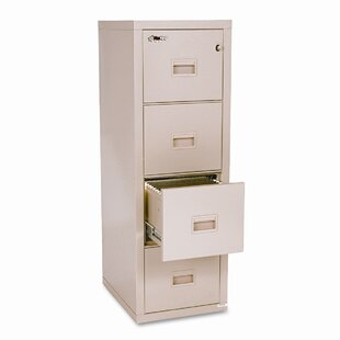 Fireproof Compact Turtle 4-Drawer File by FireKing