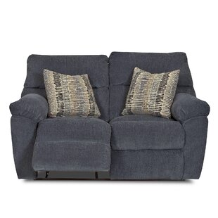 Perry Reclining Loveseat by Klaussner Furniture 2019 Online