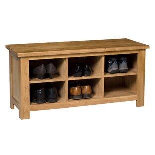 Discount Camille Wood Storage Bench