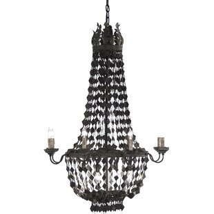 Nicia 4-Light Empire Chandelier by Zentique