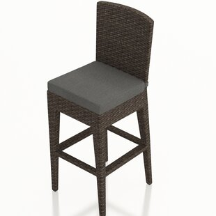 Hodge Patio Bar Stool with Cushion