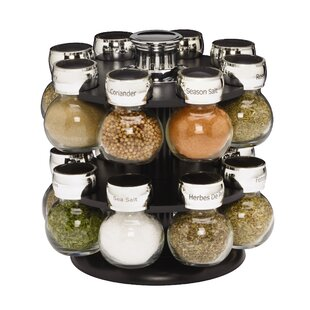 Ellington 16 Jar Spice Jar & Rack Set